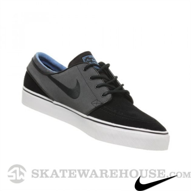 Nike Janoski Shoes Black/Anthracite/Dist Blue
