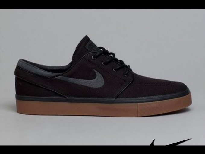 Nike Janoski Shoes Black/Gum/Anthracite