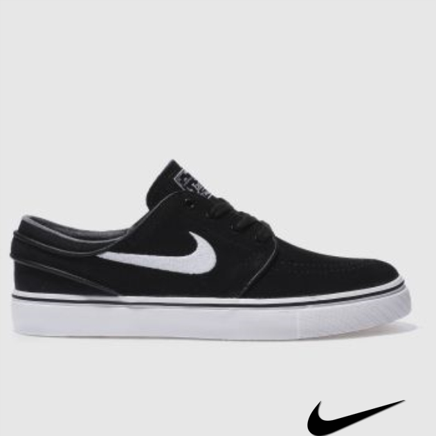 Nike Janoski Womens Black And White