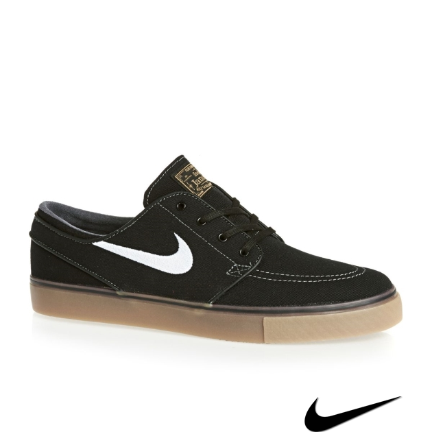 Nike Sb Janoski Shoes Black/Gum/White