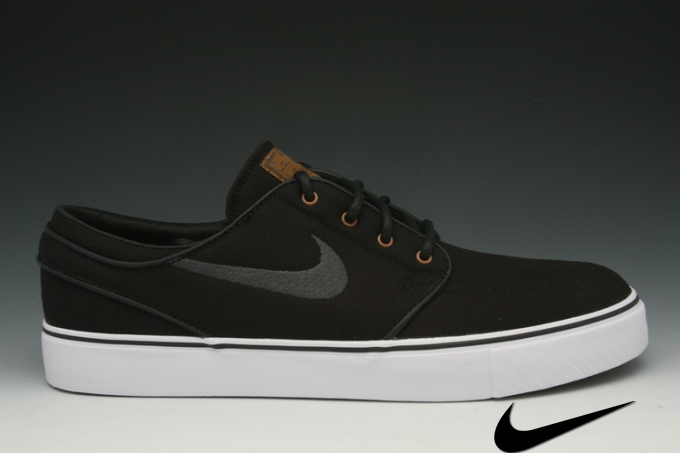 Nike Sb Janoski Shoes Black/Tan/Anthracite