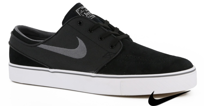 Nike Sb Janoski Shoes Black/Light Graphite