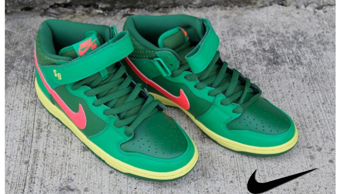 Nike Sb Dunk Mid Watermelon
