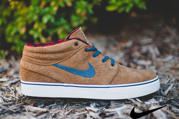 Nike Sb Janoski Mid Brown