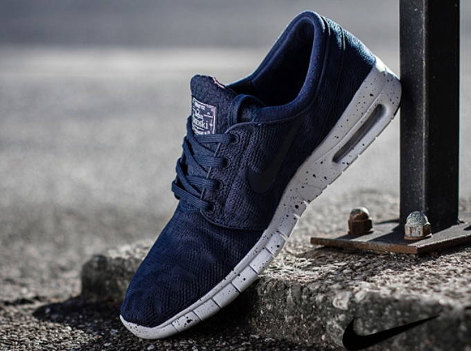 Nike Sb Stefan Janoski Max Midnight Navy For Sale
