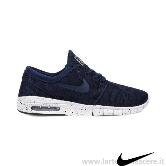 Nike Sb Stefan Janoski Max Midnight Navy Nz