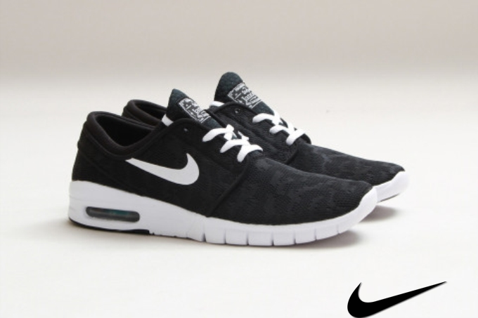 Nike Sb Stefan Janoski Max Black / White Uk