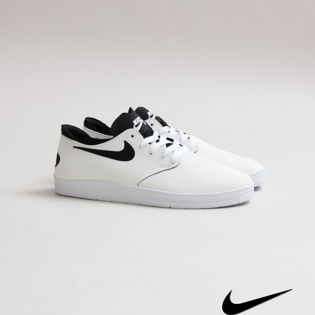 Nike Sb Lunar One Shot White