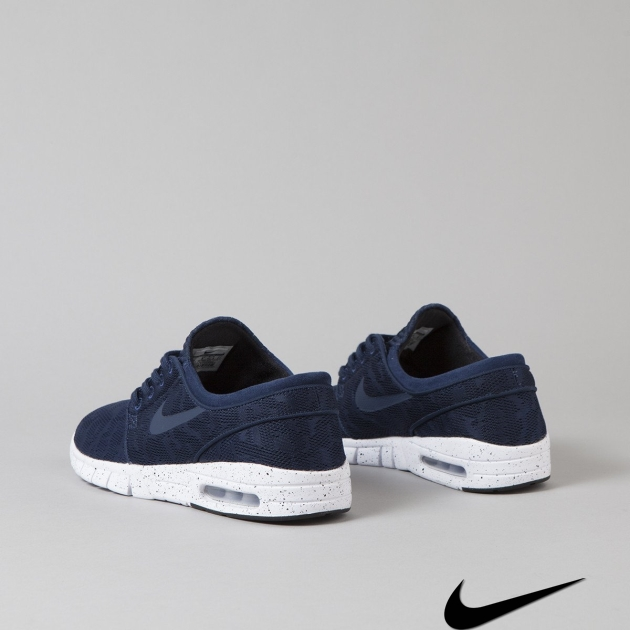 Nike Stefan Janoski Max Midnight Navy White