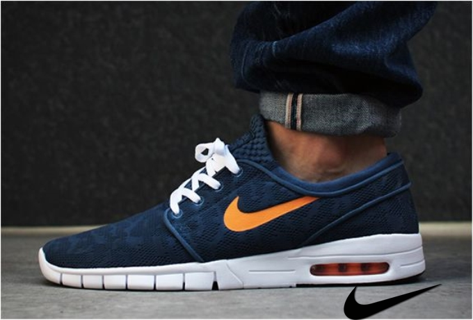 Nike Sb Janoski Max Blue Orange